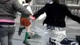 immense dancing irish protester thumbnail