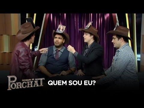 """Rafael Portugal e Evandro Santo se enfrentam no """"Quem Sou Eu?"""""""