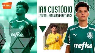 ⚽ IAN CUSTÓDIO / LATERAL-ESQUERDO / Ian Custódio dos Anjos