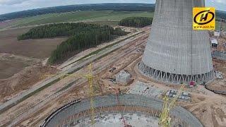 Александр Лукашенко посетил площадку строительства Белорусской атомной электростанции