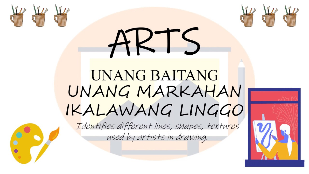 small resolution of GRADE 1 - ARTS (FIRST QUARTER-WEEK 2) - YouTube