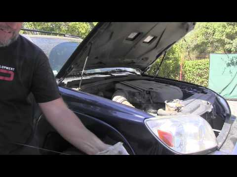 Toyota 4Runner Automatic Transmission fluid Inspection