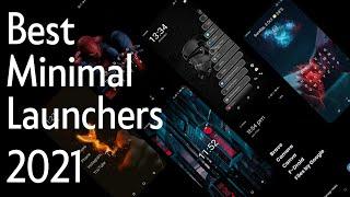 5 AMAZING Minimal Android Launchers 2021 🔥 #androidlauncher screenshot 3