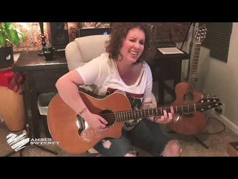 AMBER SWEENEY | BROWN EYED LOVER COVER | SONG CRUSH SUNDAY