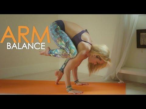 Yoga For Strength Beginner Arm Balances With Kino
