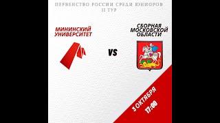 Обзор матча Мининский Университет Сборная Московской обл
