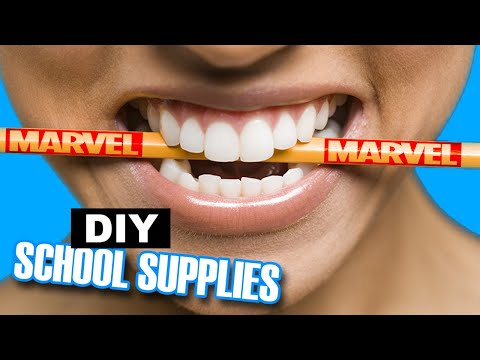5 EPIC DIY Marvel School Supplies