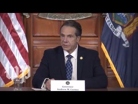 WATCH: New York Gov. Cuomo provides update on coronavirus response - 3/31 (FULL LIVE STREAM)