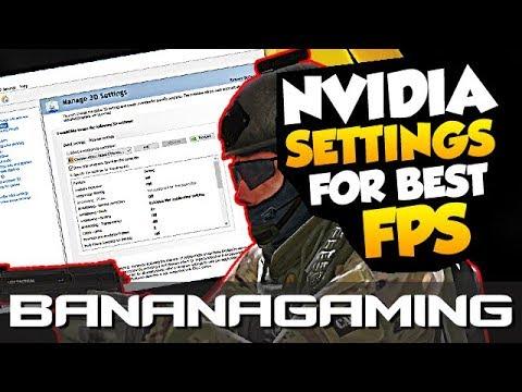 CS:GO - Nvidia 3D Settings for Best Performance (FPS Boost)