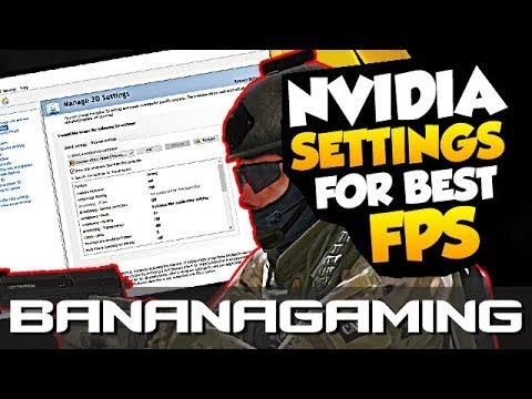 CS:GO - Nvidia 3D Settings for Best Performance (FPS Boost)