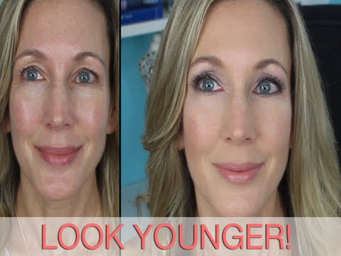 Look Younger Full Face Makeup Tutorial