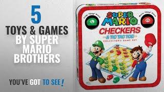 Top 10 Super Mario Brothers Toys & Games [2018]: Super Mario Checkers/Tic Tac Toe Combo