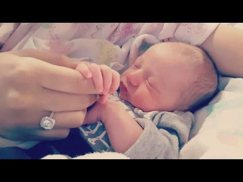 Dad Uses Newborn As Wingman To Help Him Propose To Baby's Mom