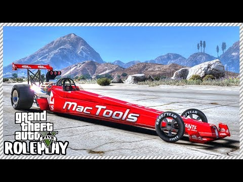 GTA 5 Roleplay - 'FASTEST CAR EVER' Top Fuel Dragster | RedlineRP #576