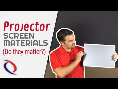does-the-projector-screen-material-really-matter?- -tech-tip-tuesday