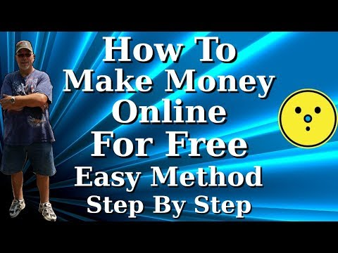 How To Make Money Online For Free Easy Method Step By Step