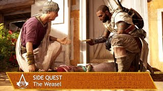 Assassin's Creed Origins - Side Quest - The Weasel