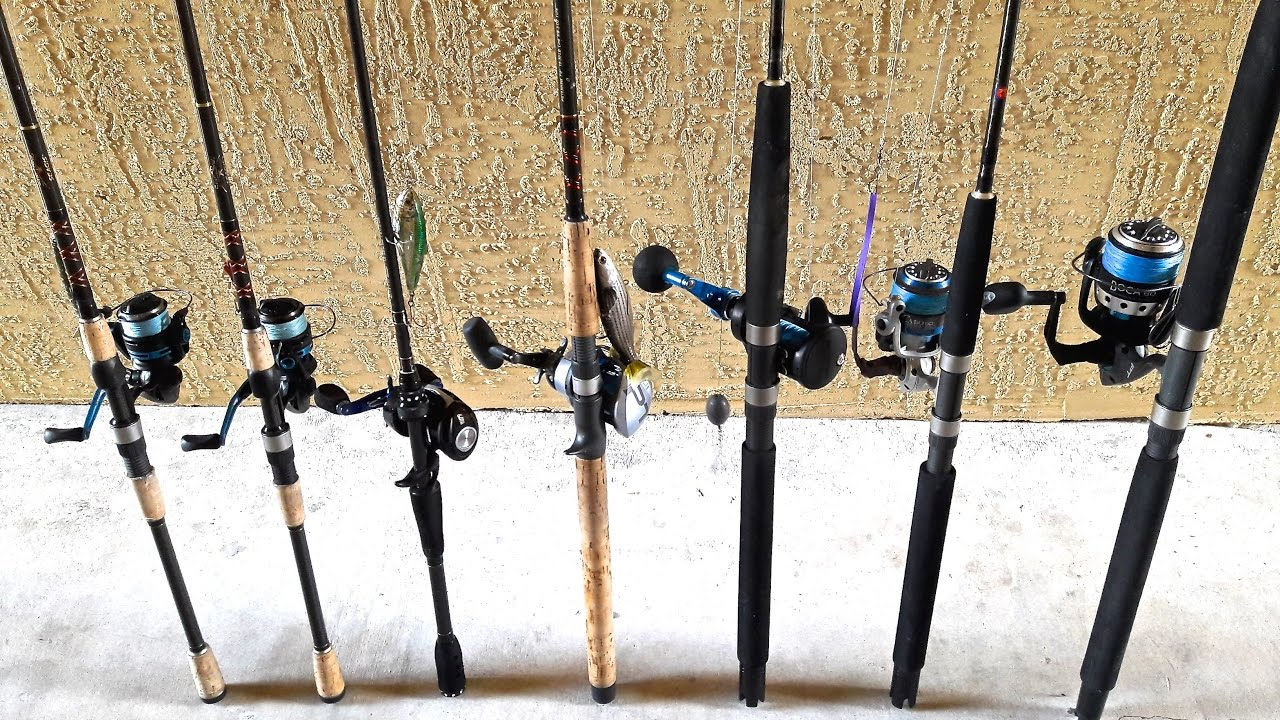 My Saltwater Rod Reel Arsenal Fishing Video 155 Youtube