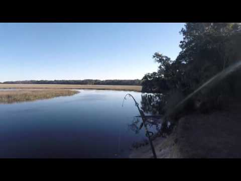 Savannah, GA Creek Fishing 12/19/2015