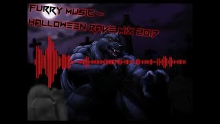 FURRY MUSIC - Halloween Rave Mix 2017