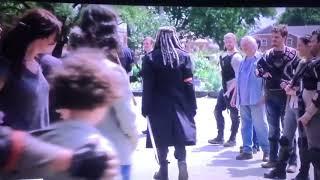 "*Leaked* Walking Dead Season 8 Episode 4 ""Some Guy"" Shiva In The Kingdom Scene"