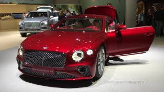 IAA Frankfurt 2017 - RED 2018 Bentley Continental GT