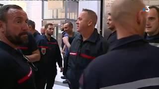 Quatre pompiers des Alpes-Maritimes jugés pour une manifestation qui a dégénéré