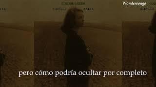 I Lost Something In The Hills - Sibylle Baier  (Subtítulos en Español)