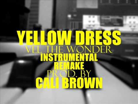 Vel the wonder yellow dress