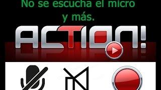Action Configurar Solucion para problemas de sonido, audio, microfono y lag