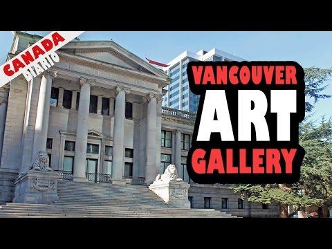 VISITANDO A VANCOUVER ART GALLERY