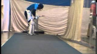 Sarim Ali Khan Batting Practice with Leverage Bowling Machine, Part 3