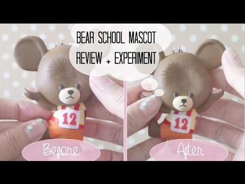 The Bear School Uniform Mascot Review + Experiment   YouTube