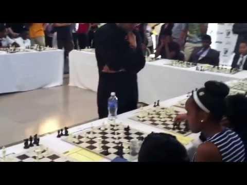 Hikaru Nakamura - Detroit Institute of Arts - chess simul 3/3