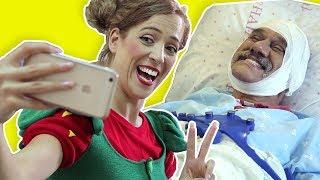 فوزي موزي وتوتي – عامل النظافة بالمستشفى - At the hospital