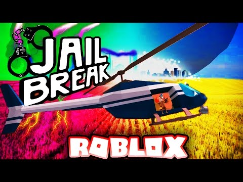 Roblox Jail Break EPIC HELICOPTER BATTLE!