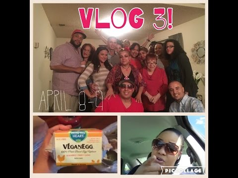 Vlog 3: Talks of Posh, Vegan Egg, Family Day