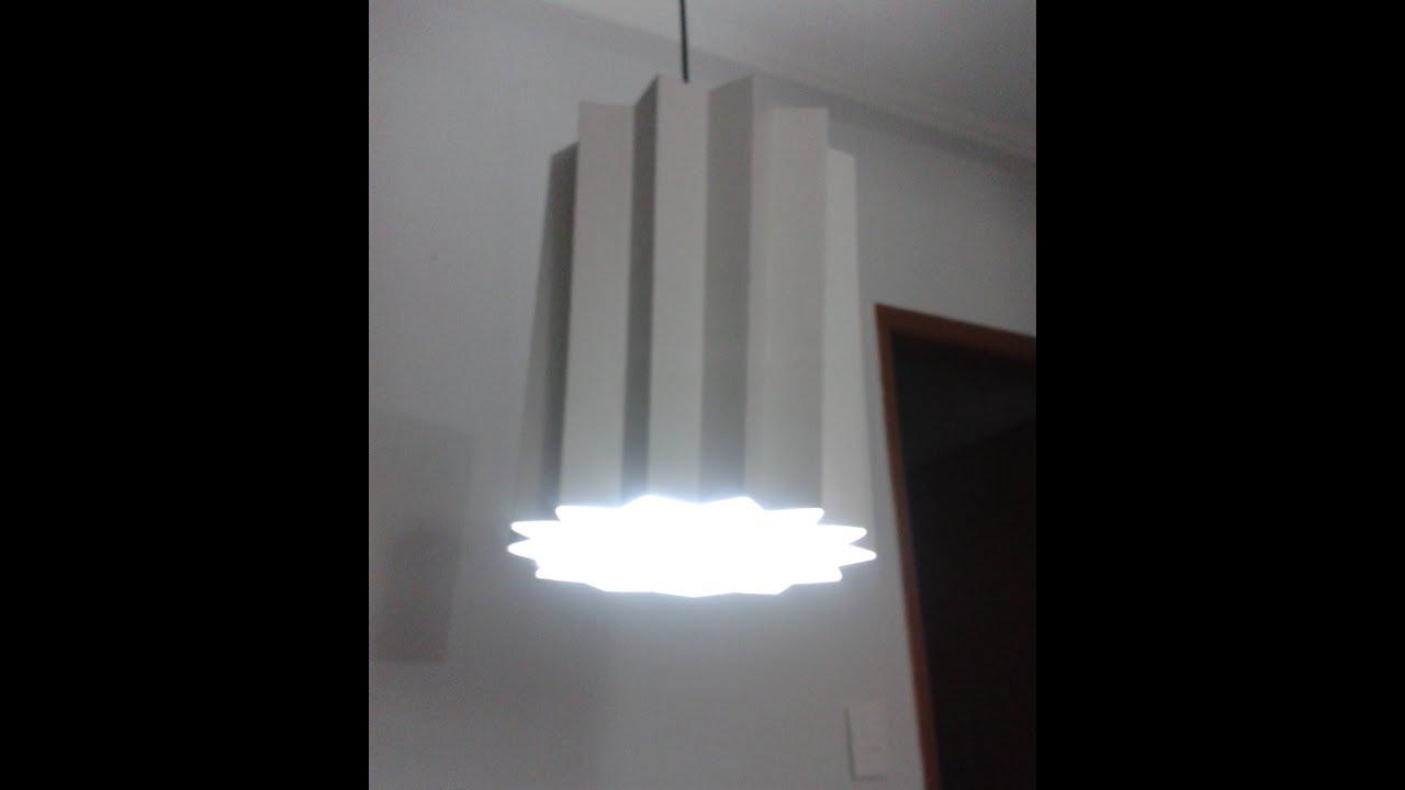 video lustre origami youtube. Black Bedroom Furniture Sets. Home Design Ideas