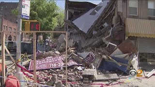 Car Crashes Into Building In Brooklyn, Causing Partial Collapse