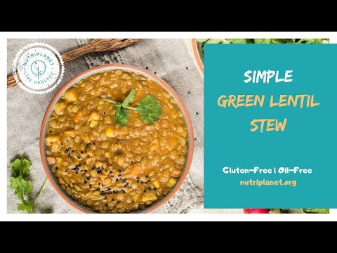 Lentil Stew with Tomatoes [Gluten-Free]