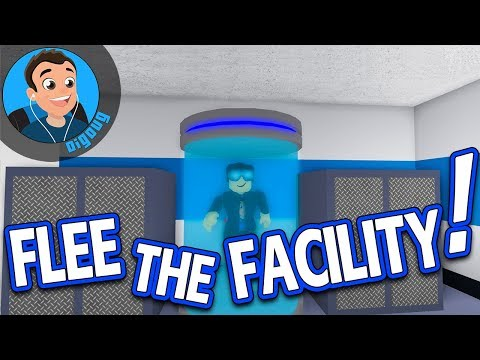 I'm a Super Hacker in Roblox - Roblox Flee the Facility Christmas