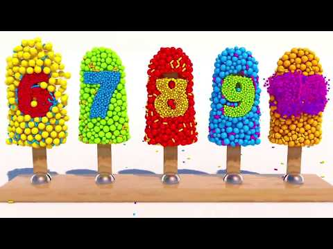Thumbnail: Learning Numbers with 3D Ice Cream for Children