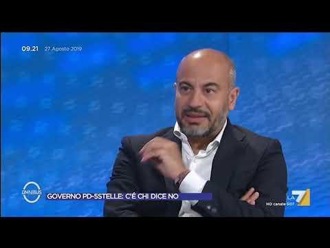 Gianluigi Paragone spiega perchè è contrario all'accordo con il PD: 'Il MoVimento ha diverse ...
