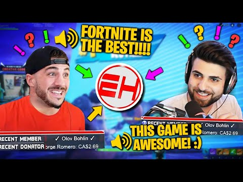 *HILARIOUS* NICK EH 30 IMPRESSIONS WITH NICKMERCS (Fortnite Battle Royale)