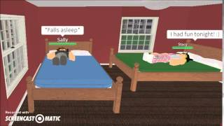 ROBLOX short film: Sleepover Gone Wrong