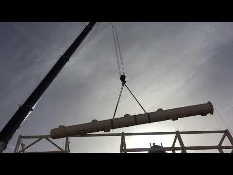 Tadano crane lifting spools