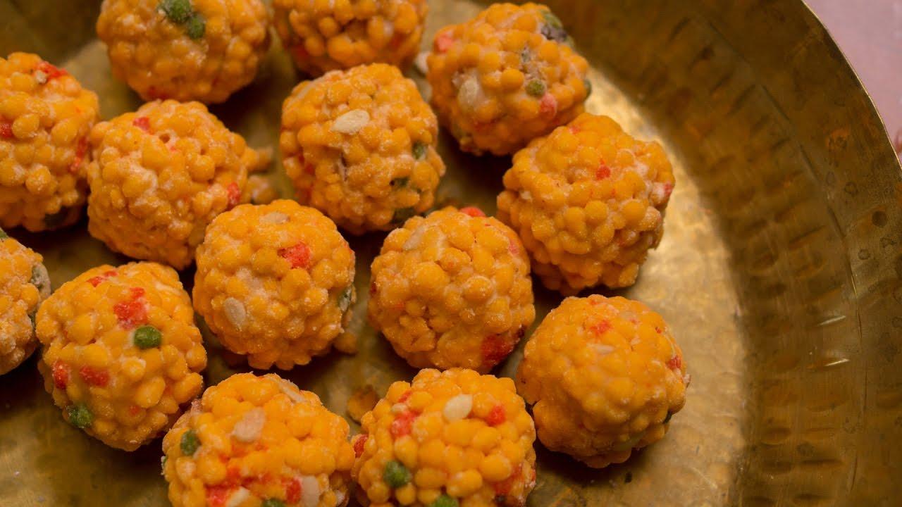 Boondi Ladoo Recipe Easy Perfect Boondi Laddu Indian Sweets Everything Explained Halwai Secrets Youtube