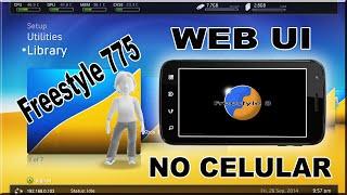 USANDO -WEB UI - NO CELULAR -FREESTYLE 775 - XBOX360 - RGH