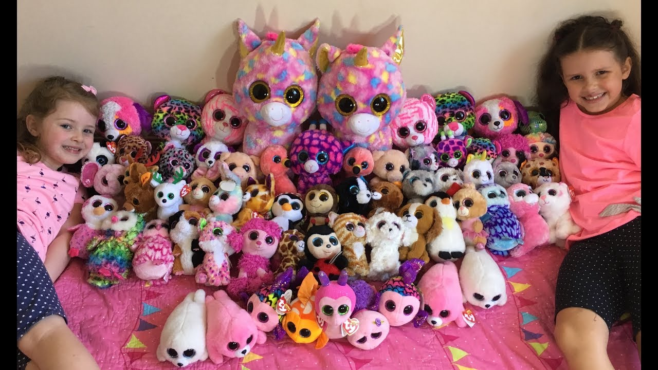 Huge Ty Beanie Boos Collection What S Their Favourite
