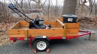 4ft. x 8ft. Folding Utility Trailer --- Ironton Northern Tool/Harbor Freight